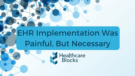 EHR implementation in healthcare industry
